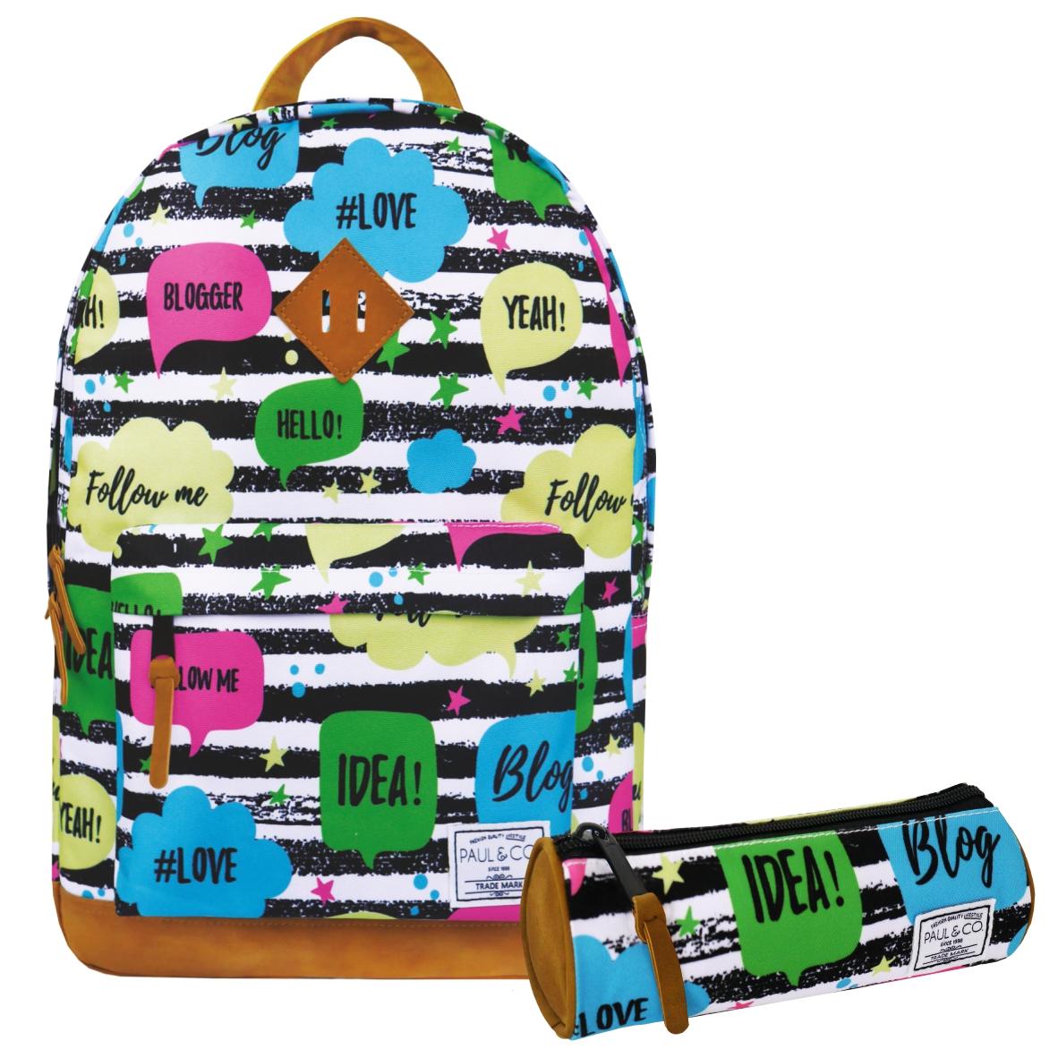 Набор школьного рюкзака для старшей школы instagram tik tok
