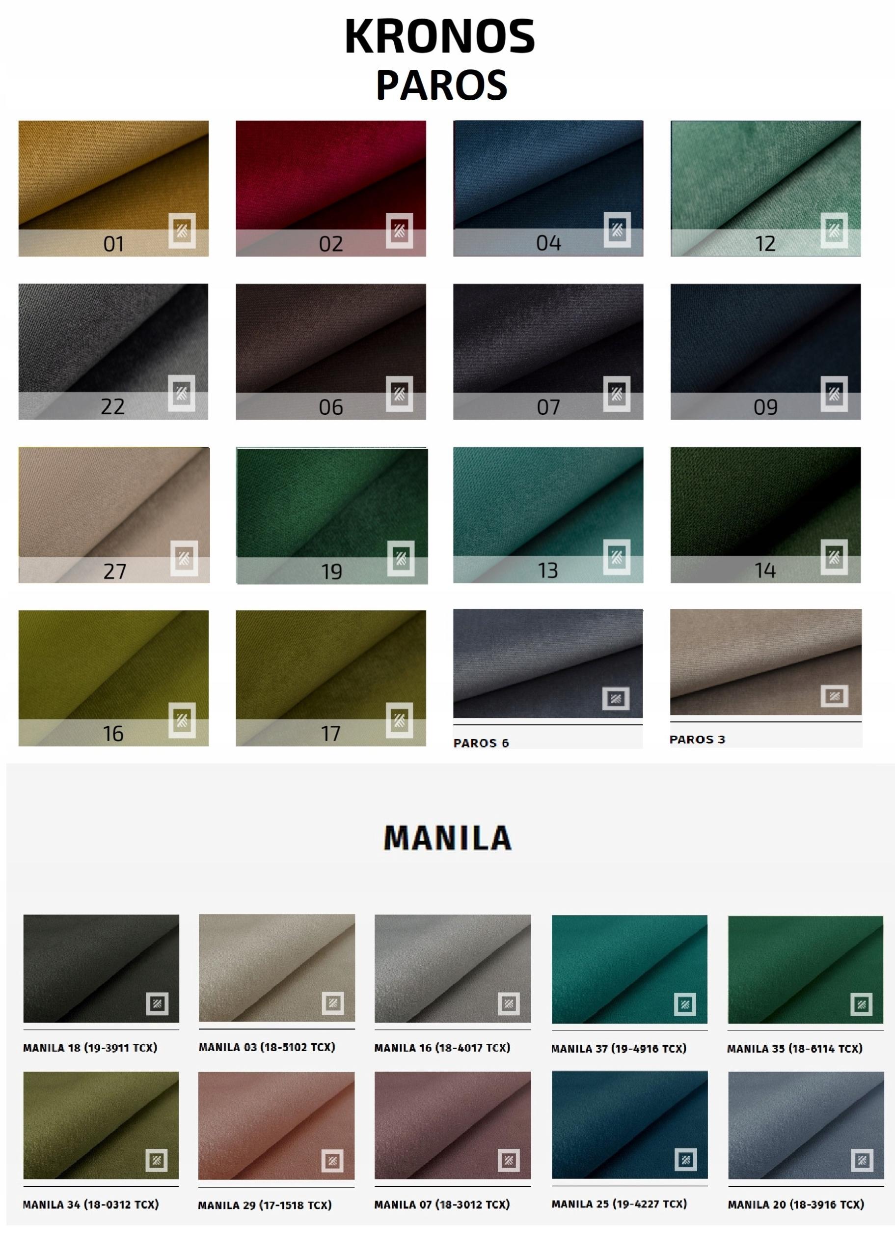 Großes Sofa SARA ausklappbares Schlafsofa - Farben Farbe der Polsterung - Grüntöne