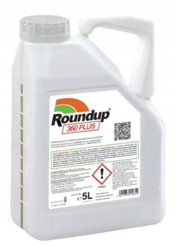 Roundup 360 Plus 5 L RANDAP для всех сорняков