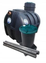 Станция очистки сточных вод Delfin 2000 Premium Комплект 2-5 чел.