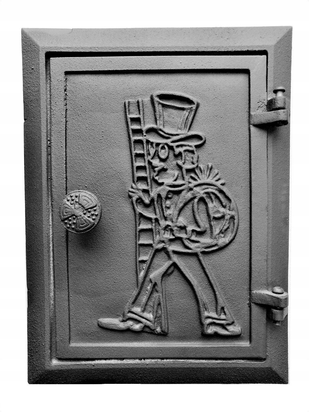 liatinové komínové inšpekčné dvere
