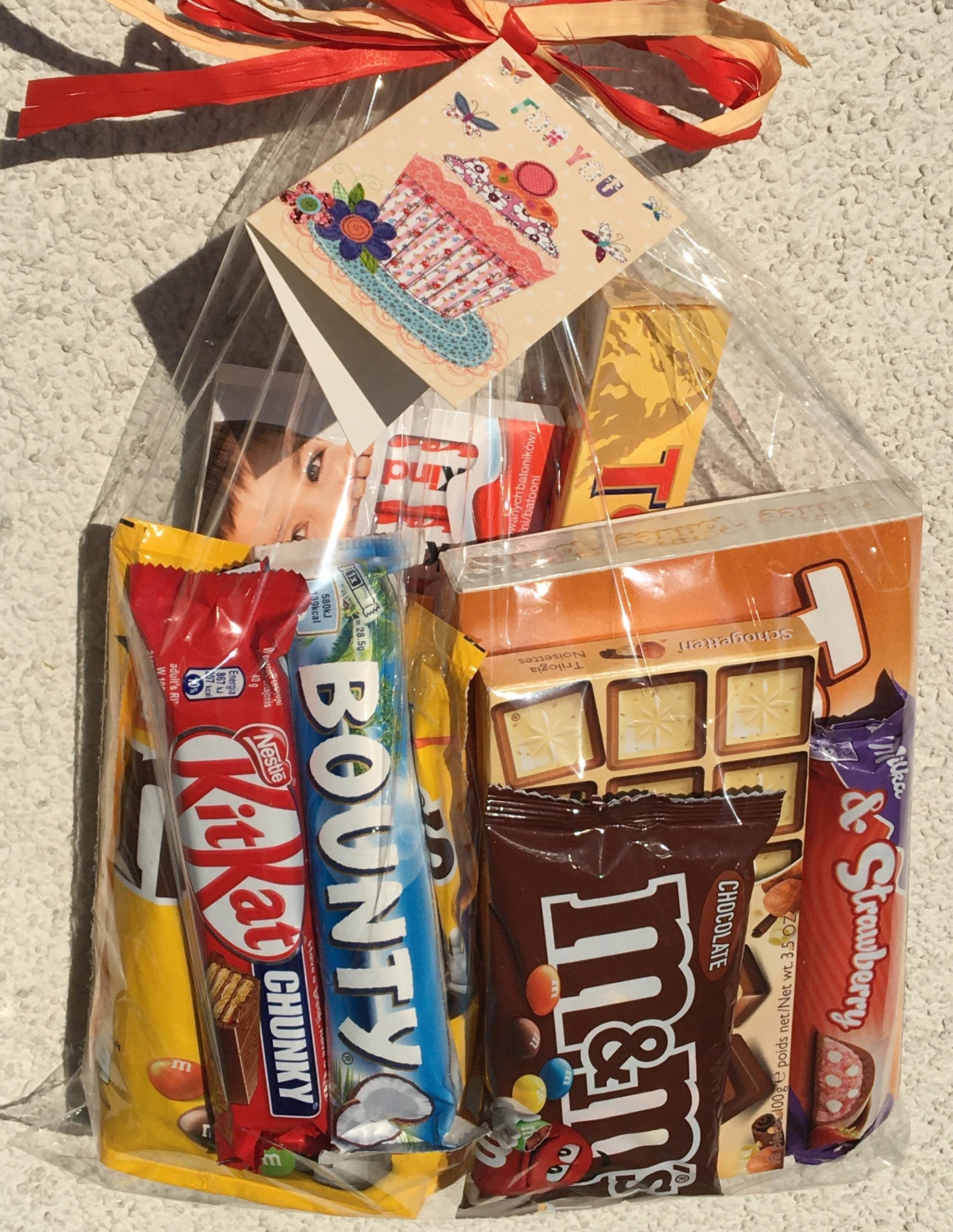 Candy balenie darčekové Deň detí Lístok