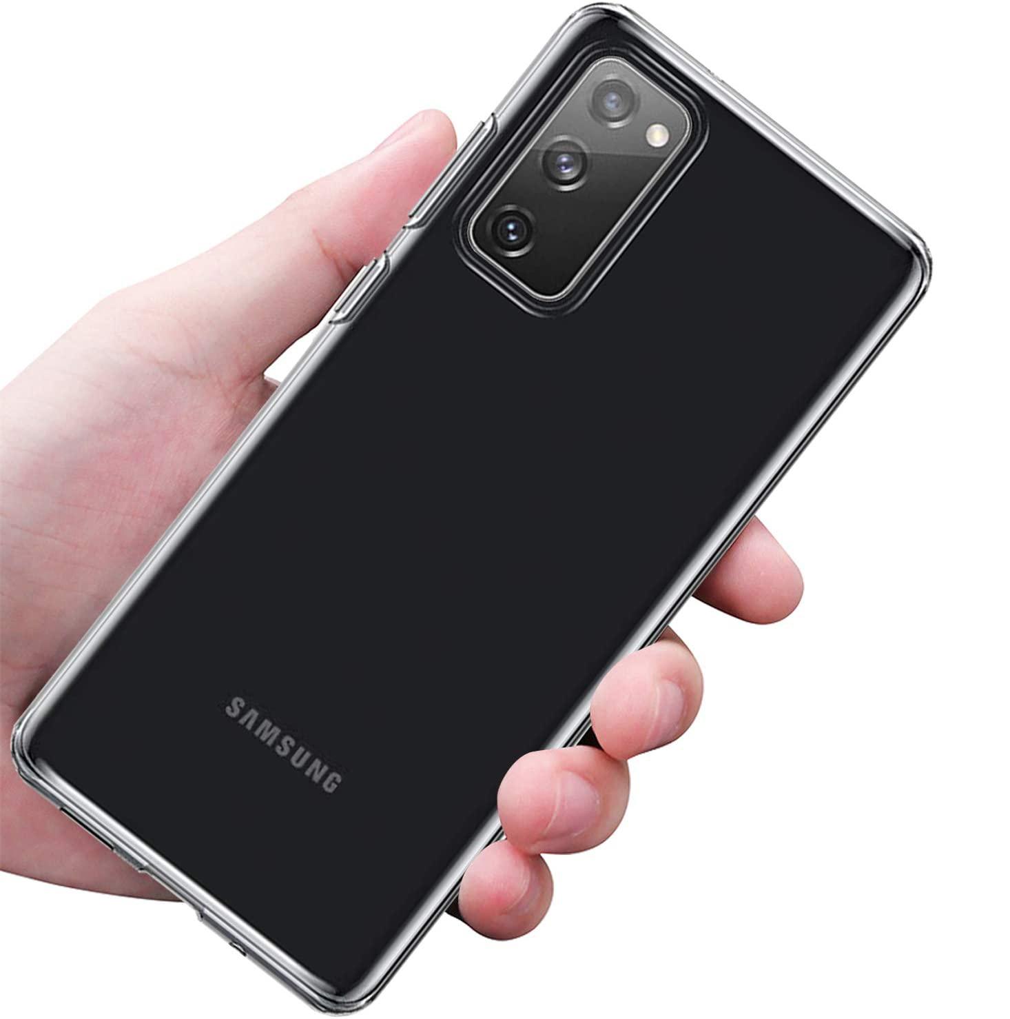 Etui do Samsung Galaxy S20 FE Clear Case + Szkło Kod producenta 5900495871756