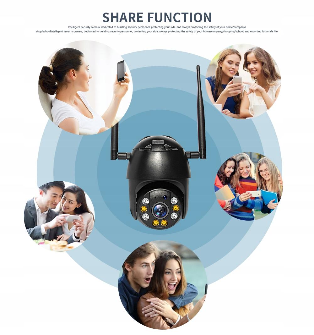 KAMERA 3G 4G GSM LTE OBROTOWA INTERNET Z KARTY SIM Technologia IP