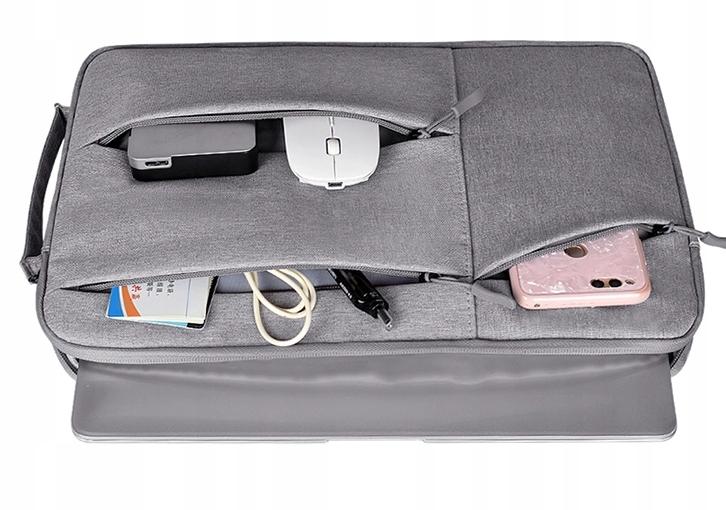TORBA POKROWIEC ETUI Laptop 10 13,3 Macbook Szara Waga produktu z opakowaniem jednostkowym 0.25 kg