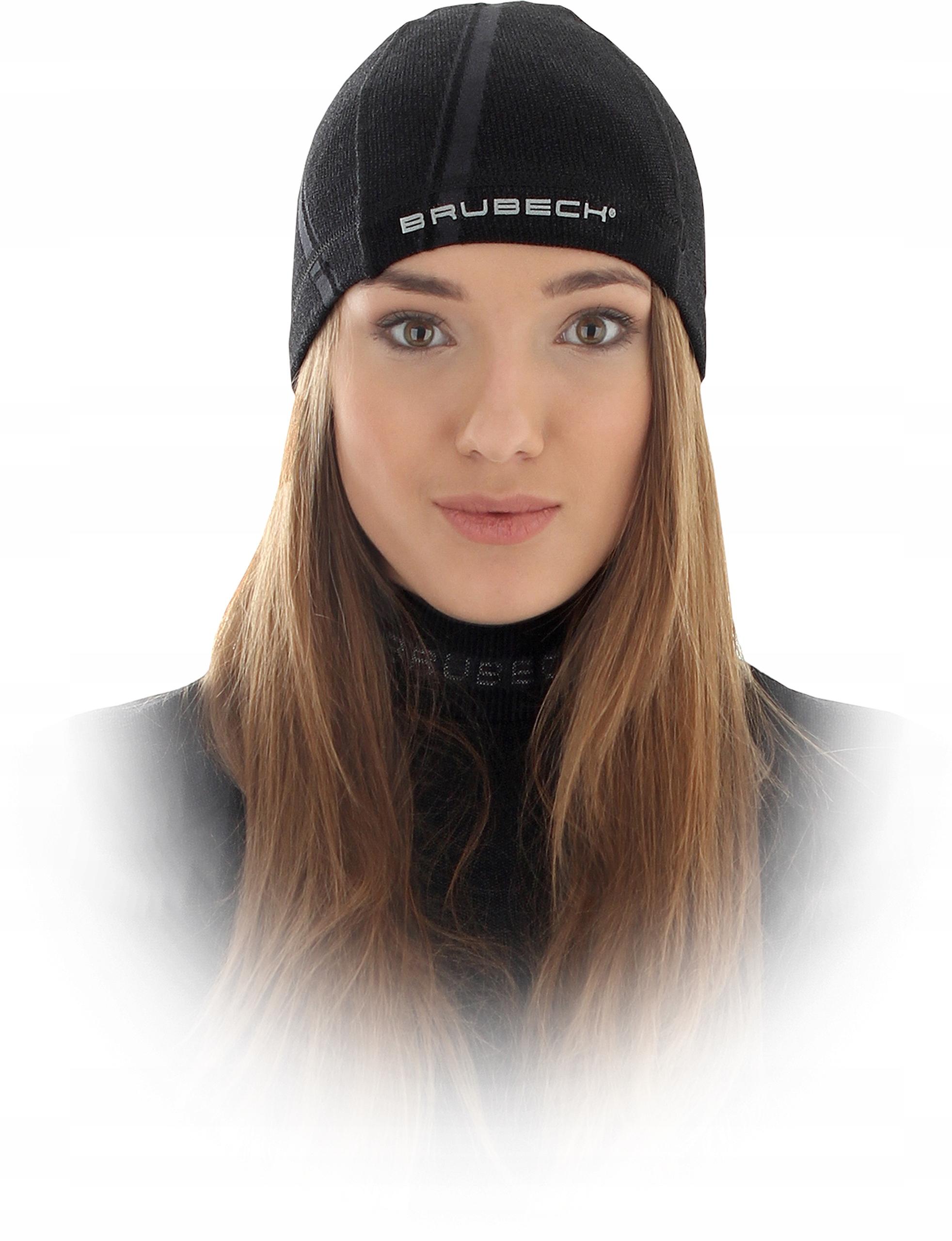 Купить BRUBECK Termoaktywna czapka zimowa do biegania на Otpravka - цены и фото - доставка из Польши и стран Европы в Украину.