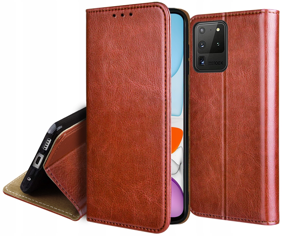Etui Skórzane Portfel do Samsung Galaxy S20 Ultra