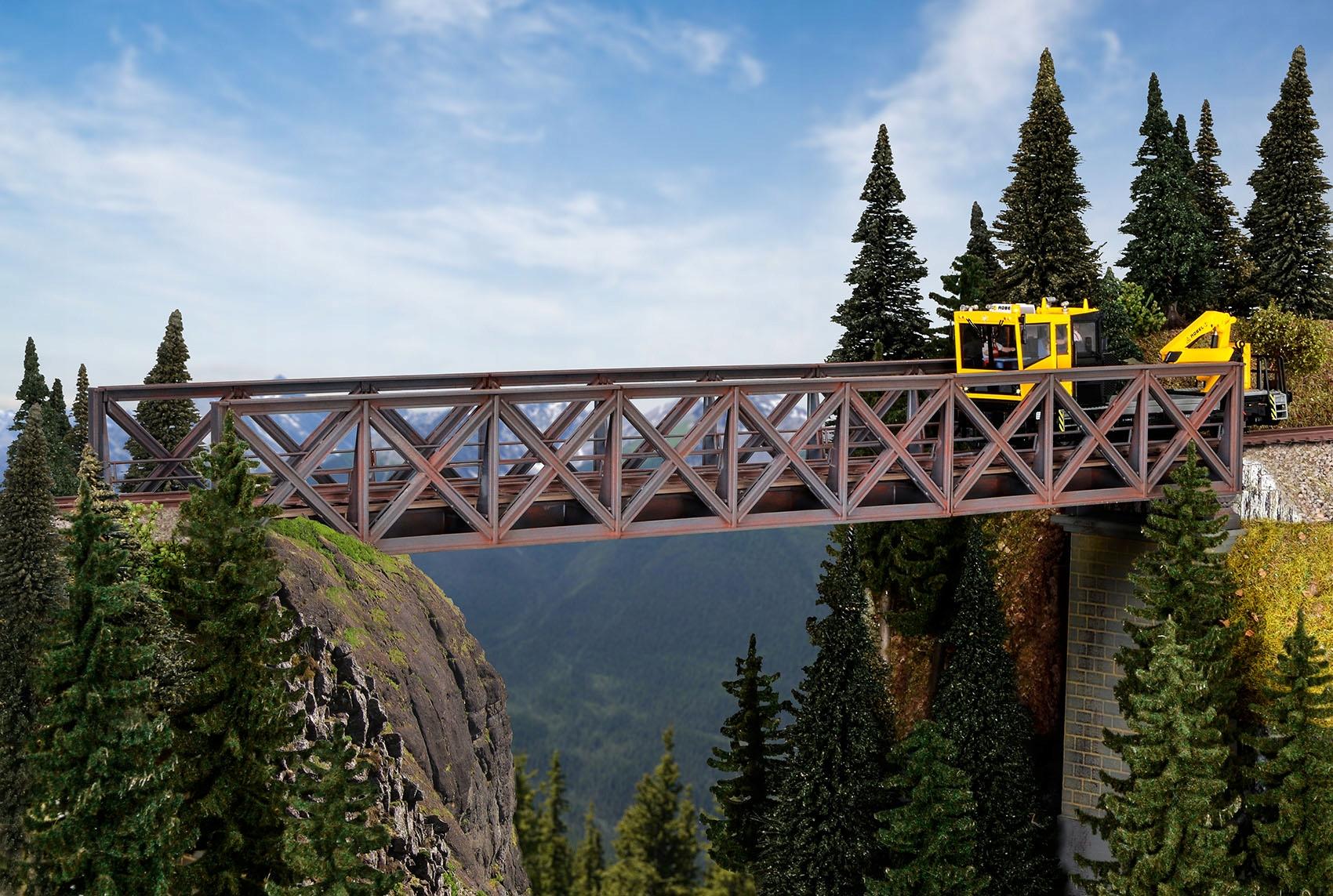 Kibri 39702 Most kolejowy kratownicowy 1:87 KIT