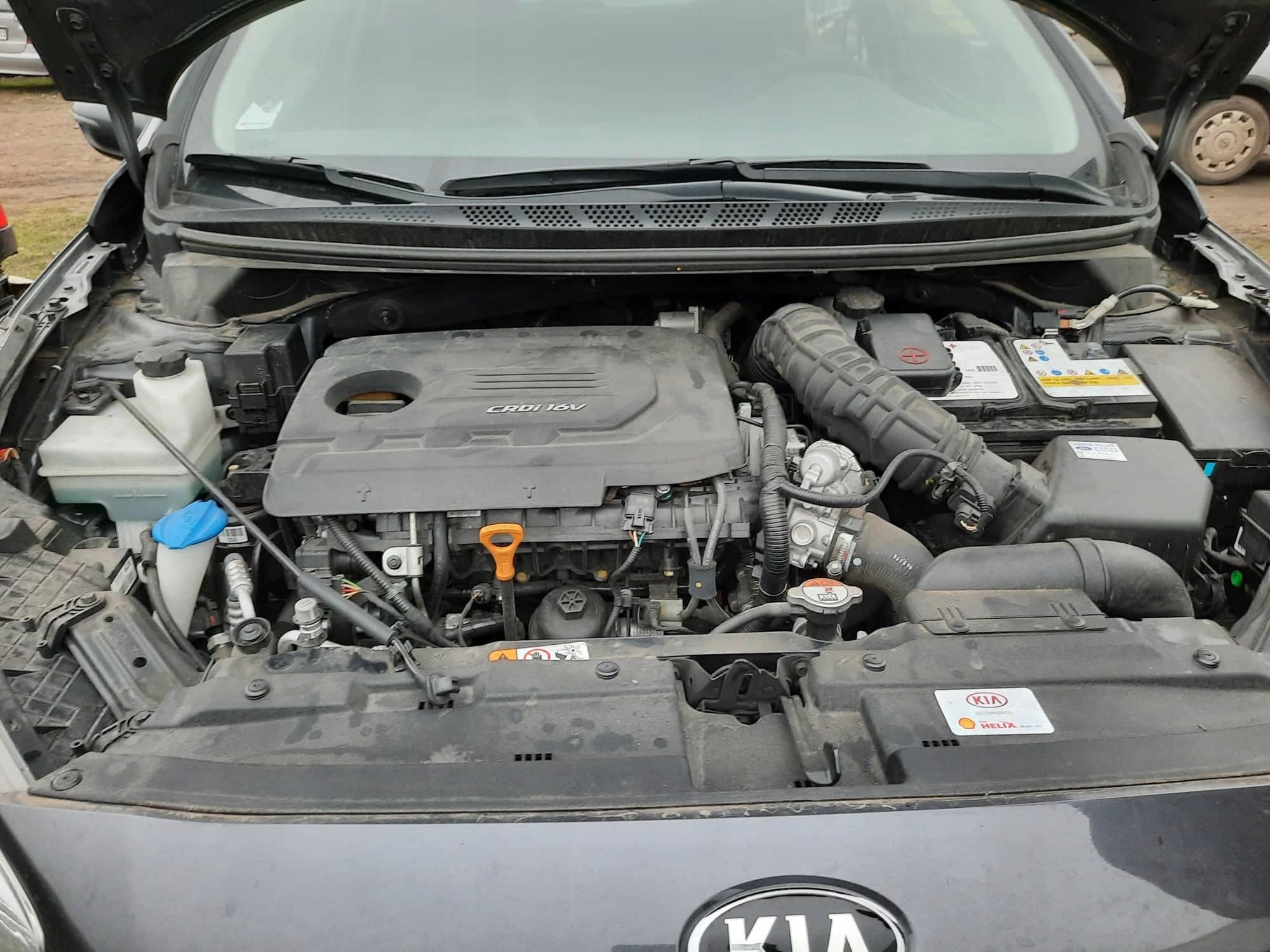 двигатель d4fb 16crdi hyundai i30 ceed soul 12-16