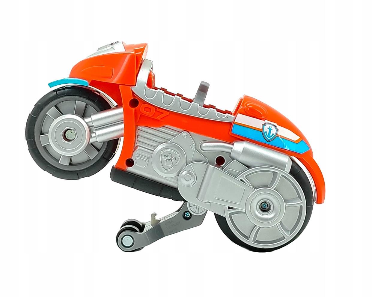 PSI PATROL ZUMA FIGURKA I MOTOCYKL MOTO PUPS EAN 778988330425