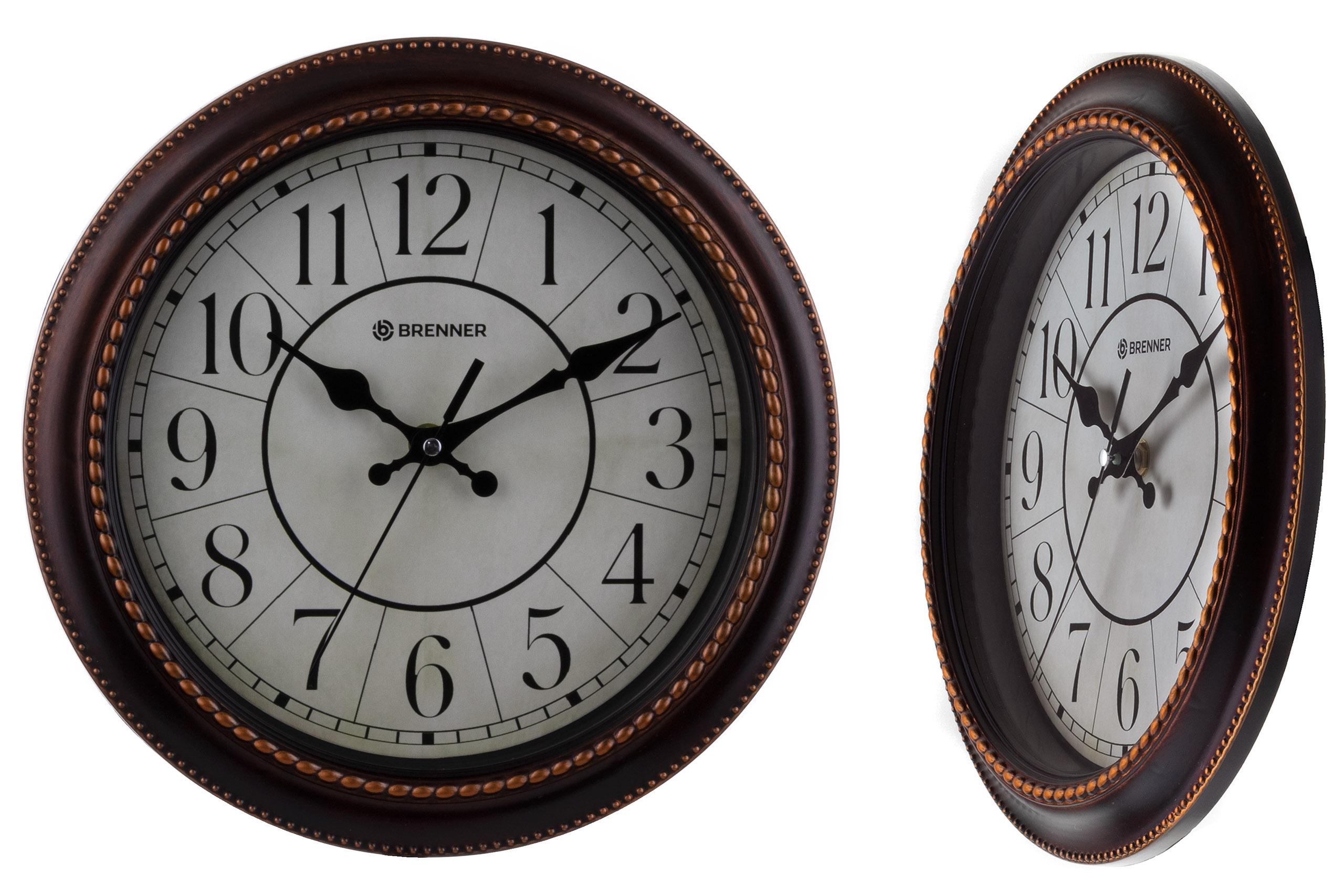 Retro nástenné hodiny, ozdobné retro trenie (H)