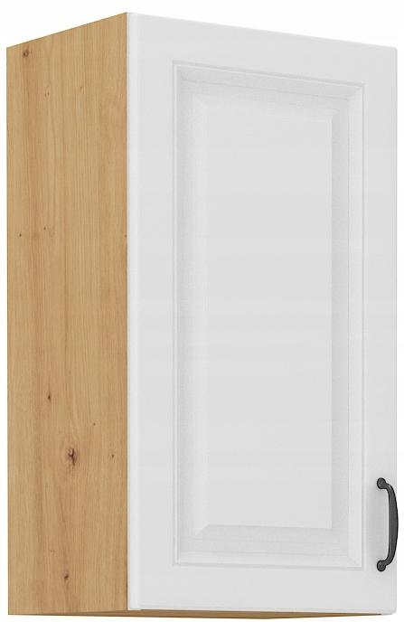 Horná kuchynská skrinka 40 cm remeselník + biela RETRO