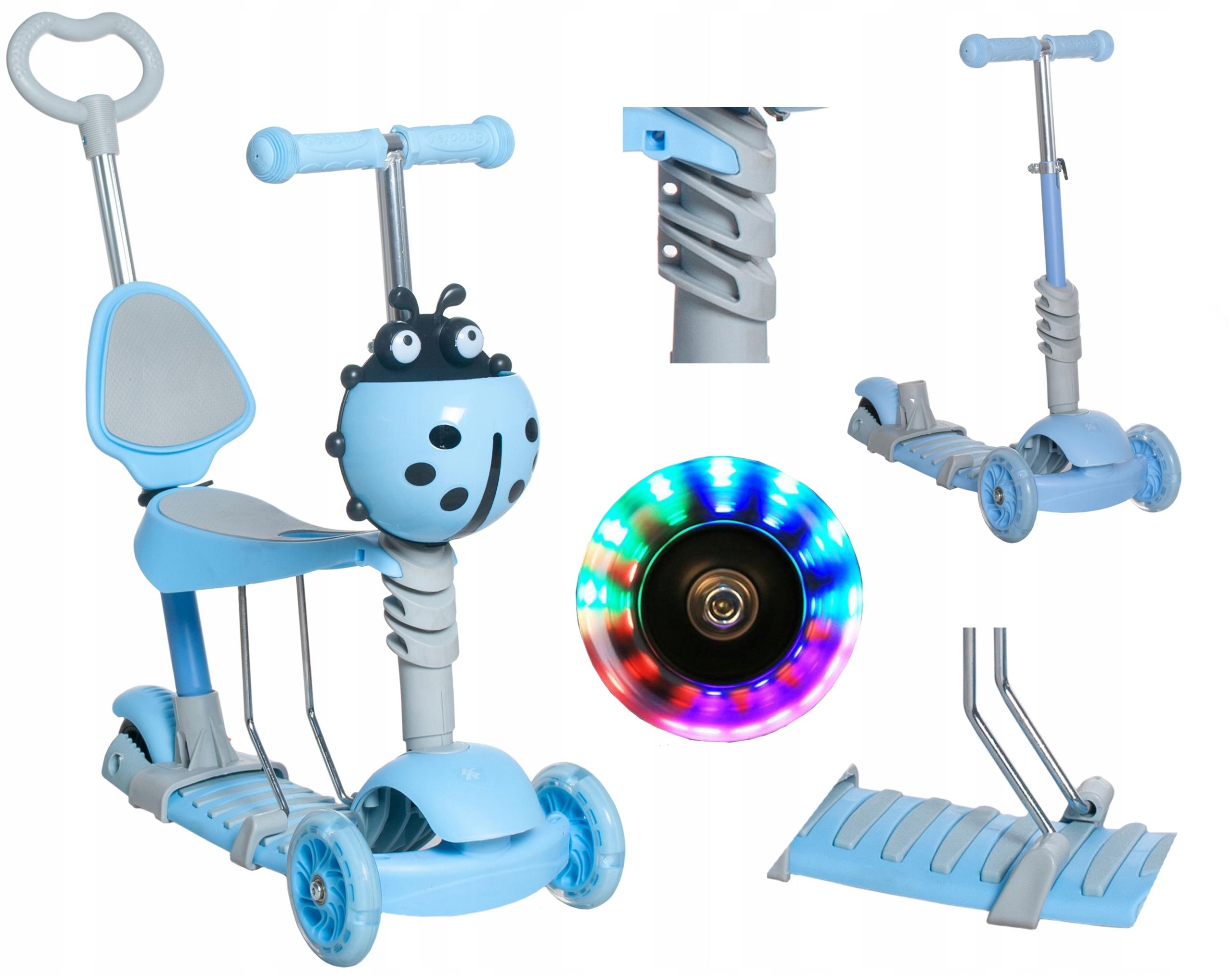 Скутер Божья коровка Balance Ride Children 5in1