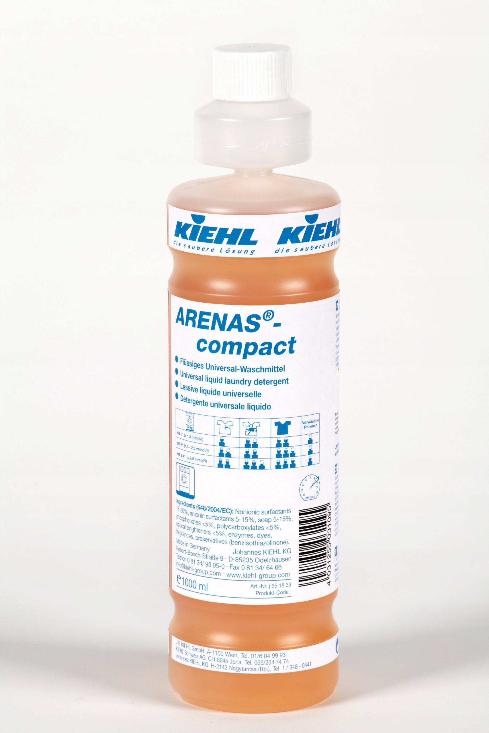 ARENAS COMPACT Kiehl универсальный для стирки 1л