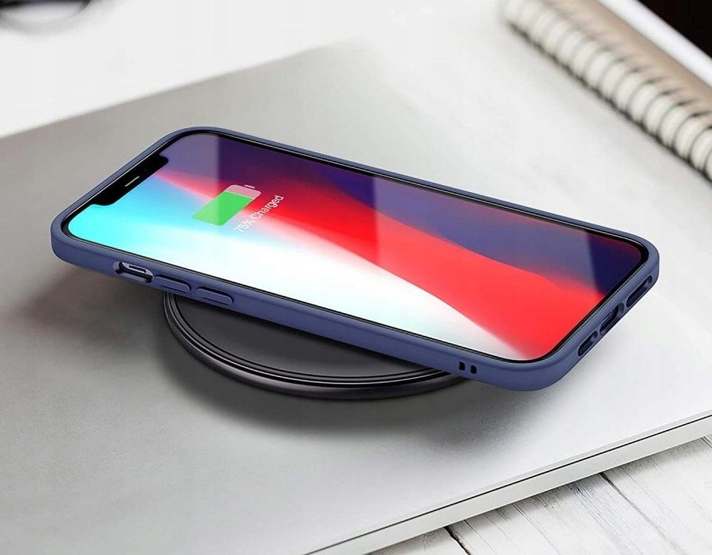 Etui ESR Blue + Szkło Płaskie do iPhone 12 Mini Materiał tworzywo sztuczne