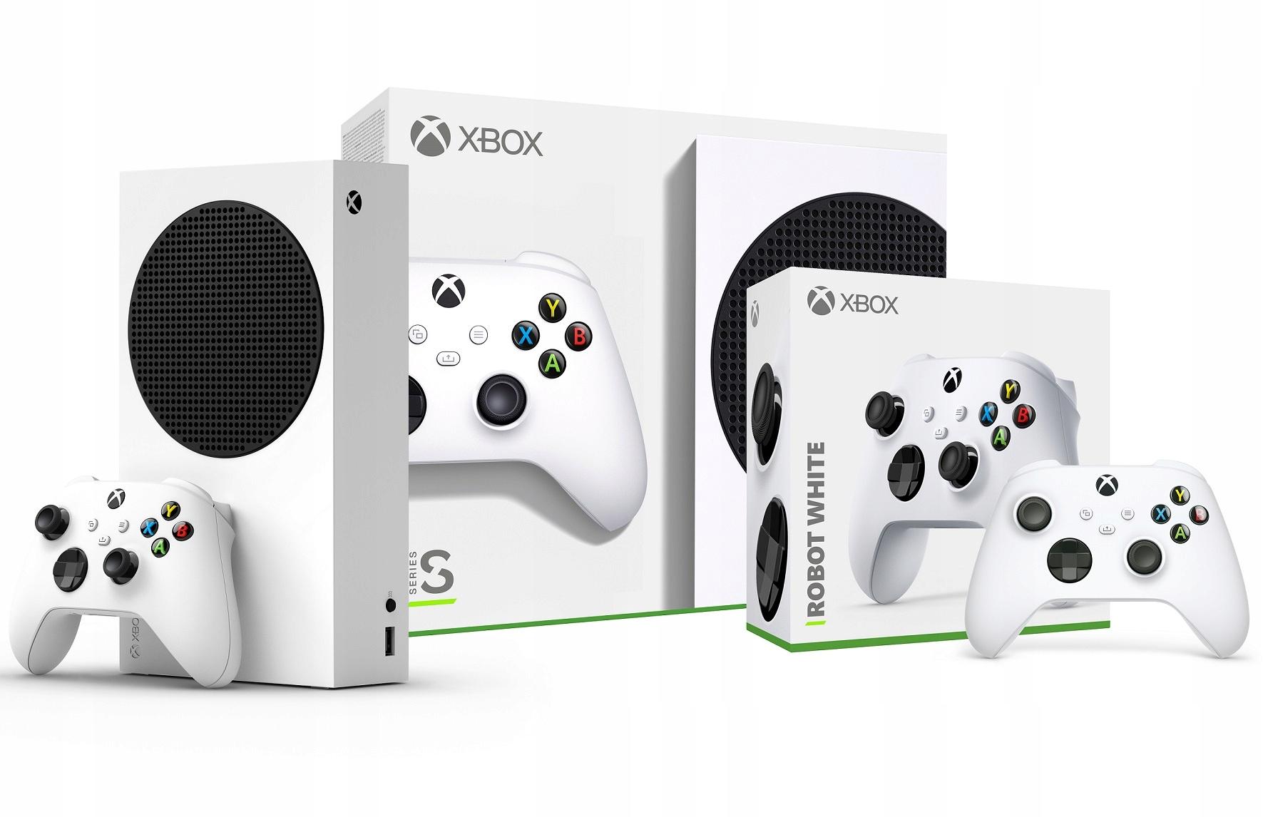 Microsoft Xbox Series S 512GB SSD 2 podložky