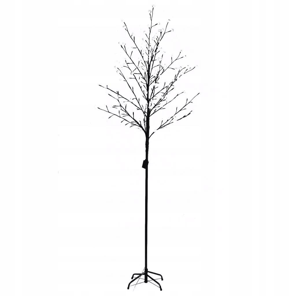 DRZEWKO ŚWIECĄCE LAMPKI ŚWIĄTECZNE 200 LED 150cm