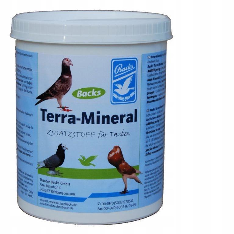 ТЕРРА - МИНЕРАЛ для голубей 1,5 кг