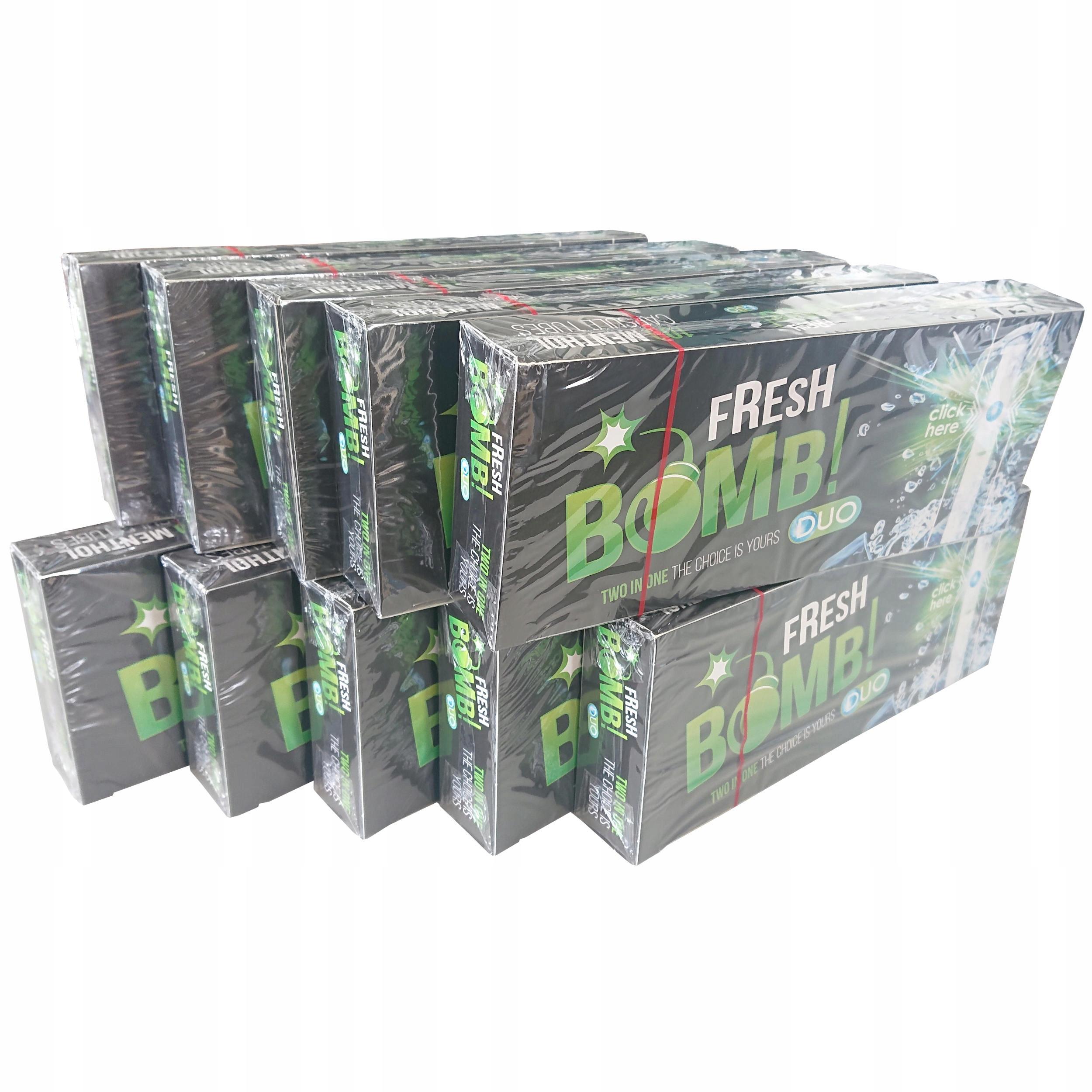 Наперстки Fresh bomb Menthol 10 x 100 шт мятный щелчок