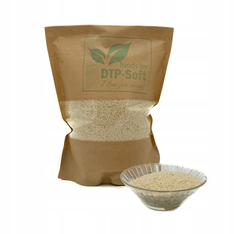 Кунжут 1 кг натуральный, очищенный от белых продуктов