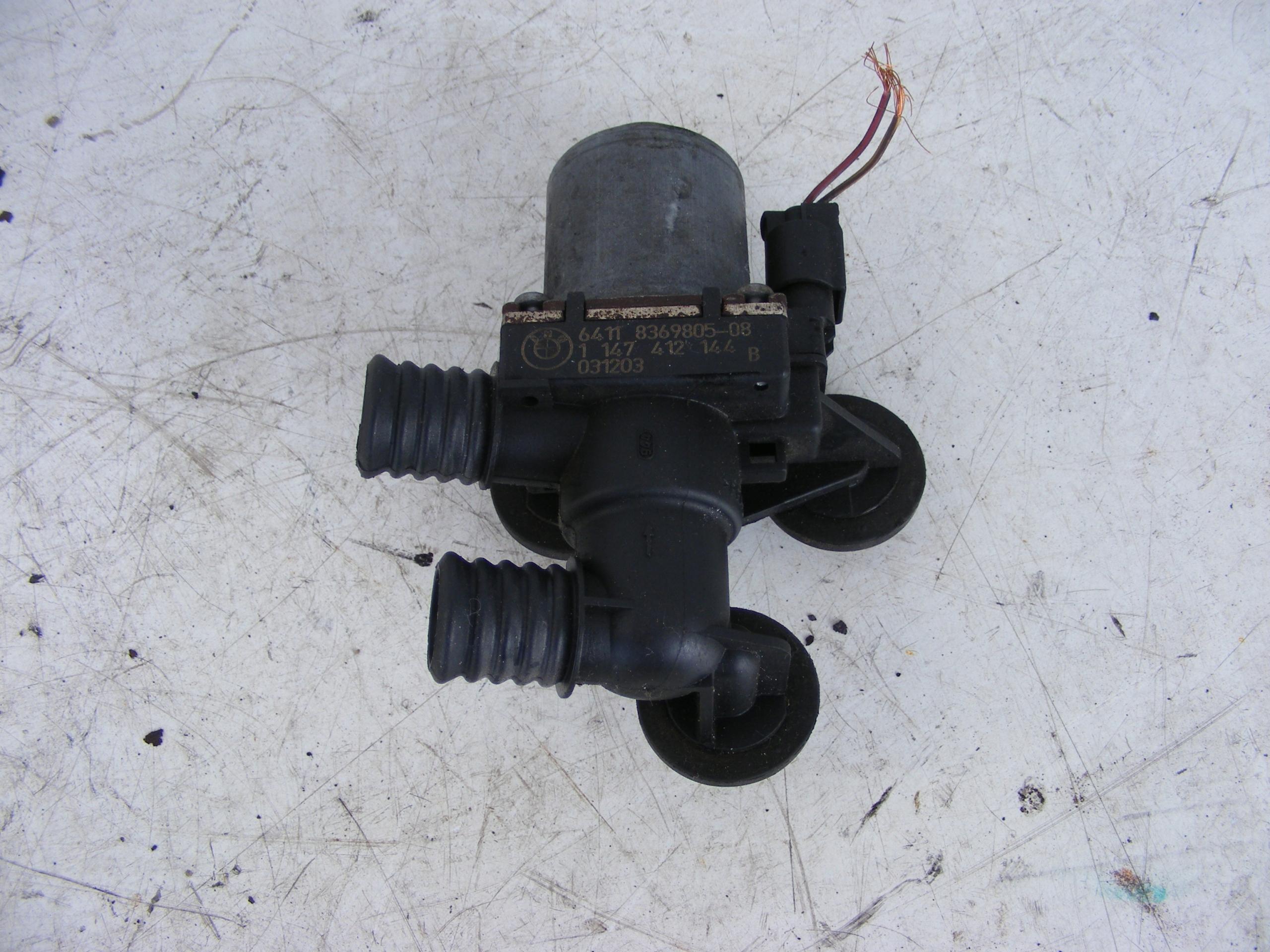 bmw e46 e39 электроклапан воды 8369805