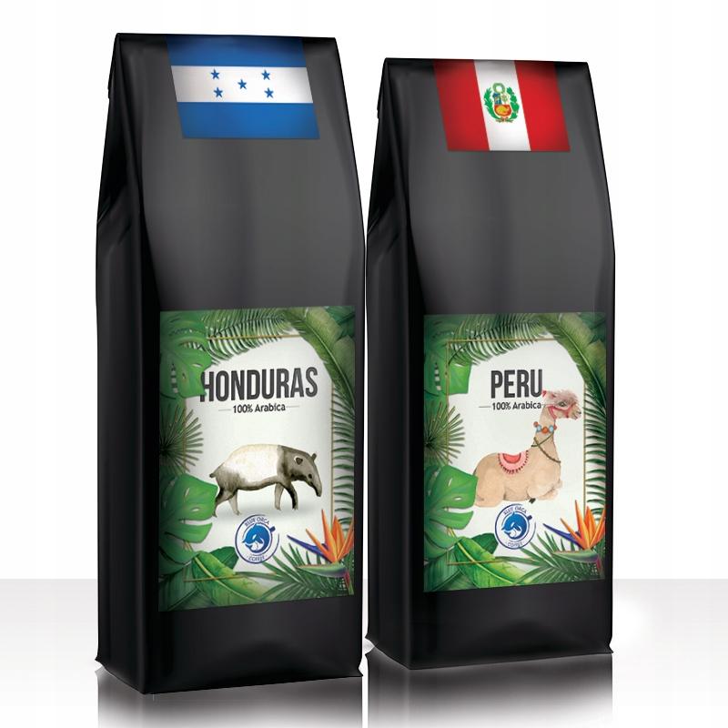 Kawa Peru + Honduras 2kg ŚWIEŻO PALONA Arabika100%