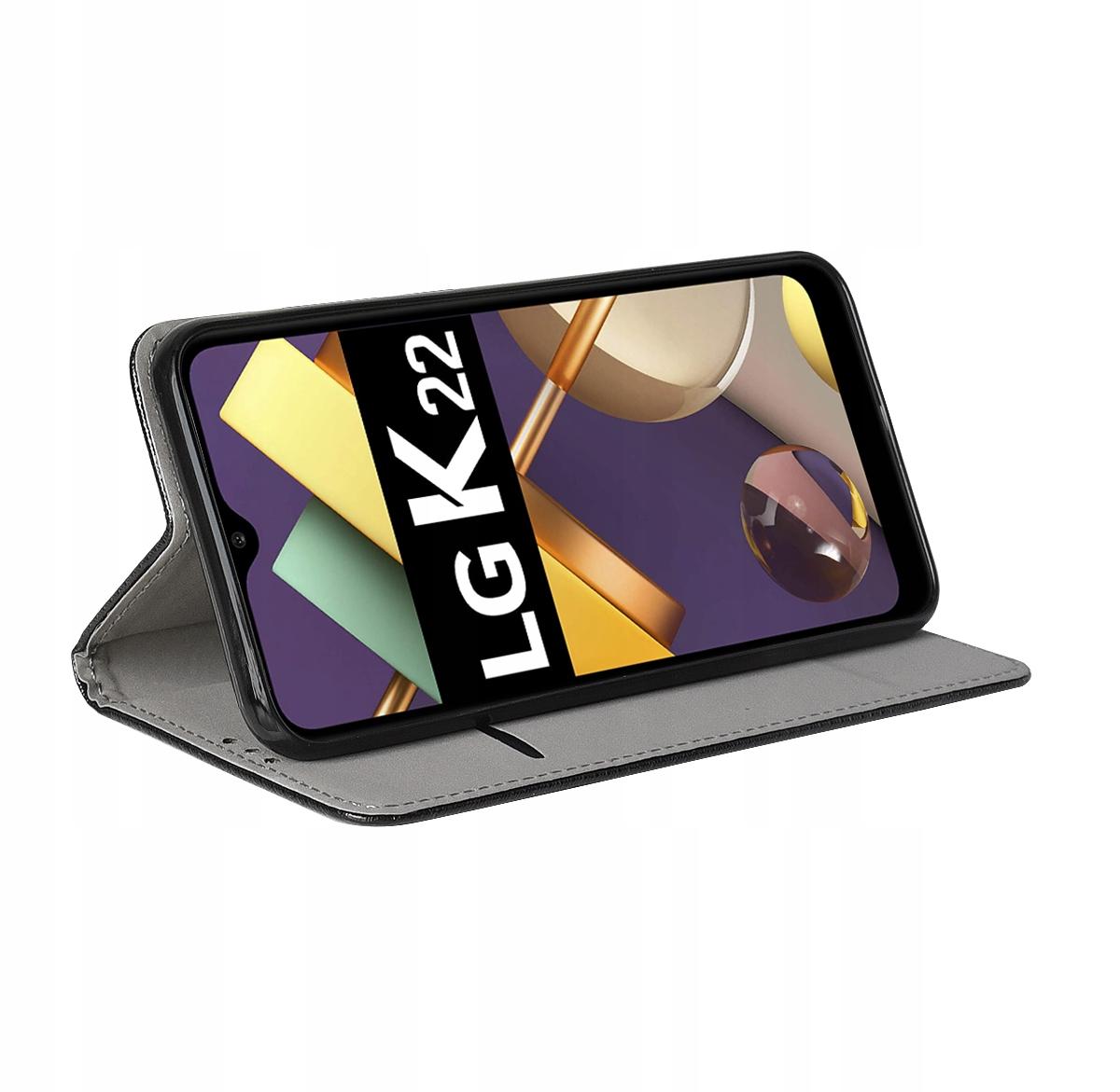 Etui do LG K22 Case Magnet Portfel + Szkło 9H Producent Kraina GSM
