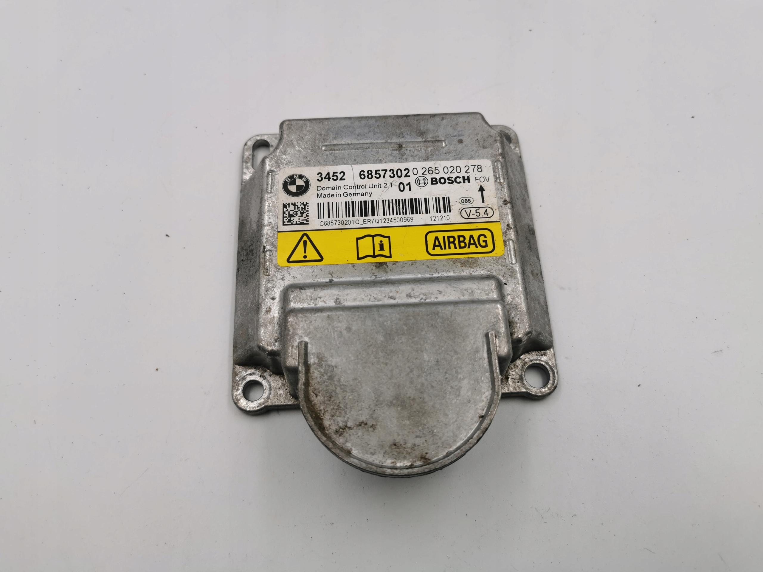 драйвер модуль airbag bmw f01 f02 f10