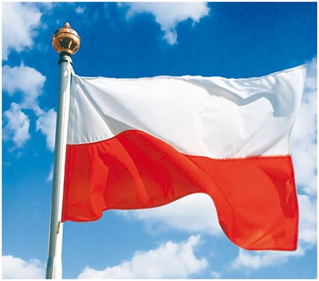 Флаг Польши Польша 150x90 см МАЧТА PELERY 24h
