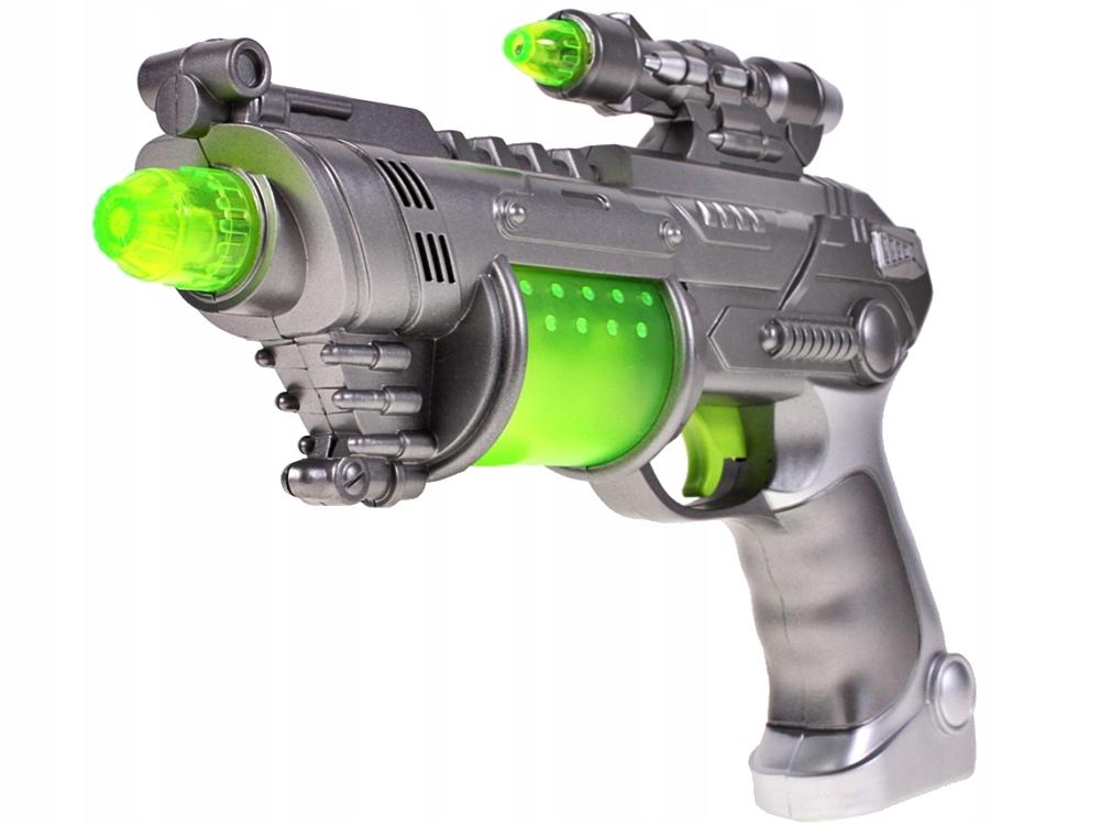 PISTOLET Świetlny Millenium Falcon WIBRACJE Broń Marka MalPlay