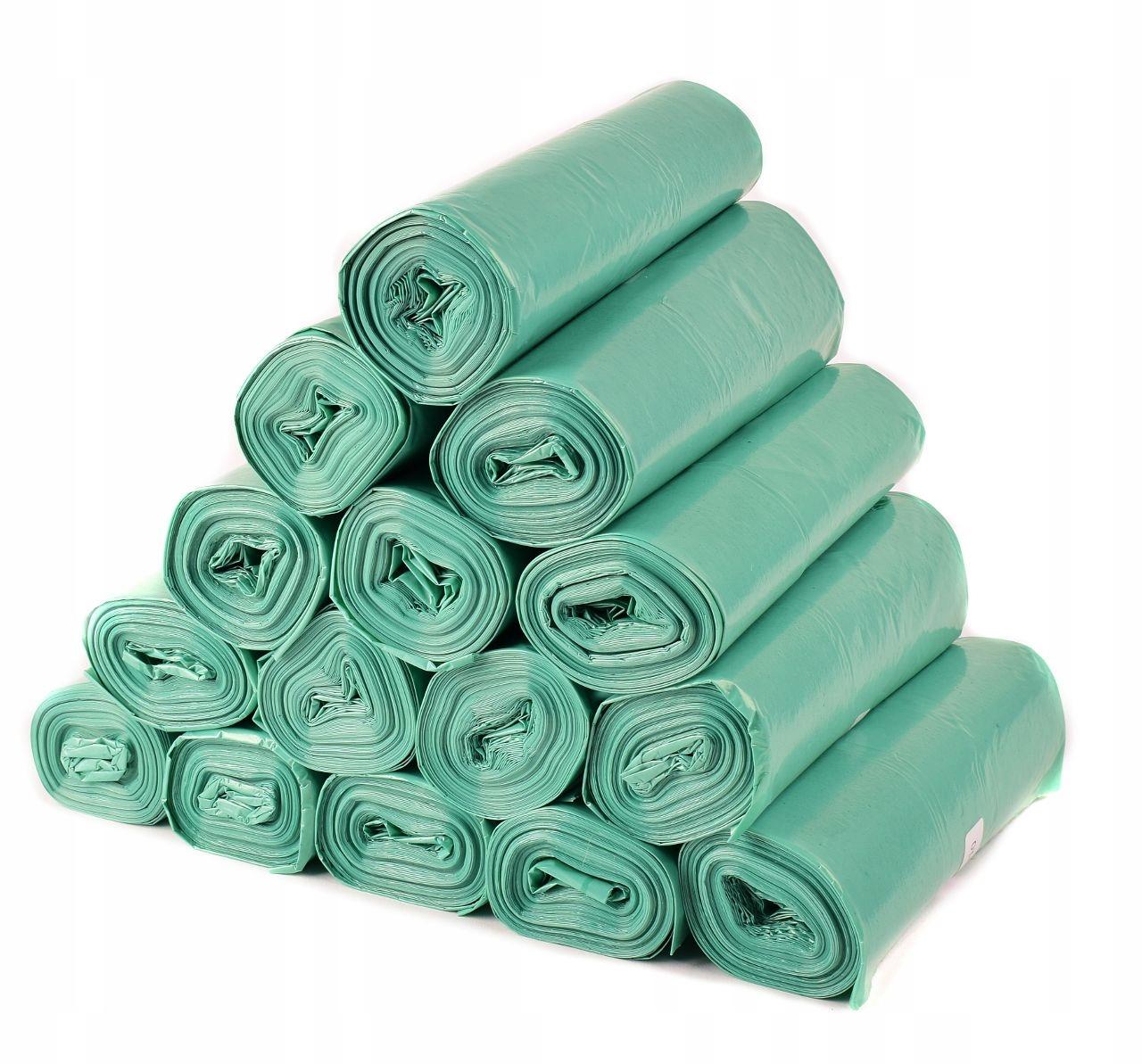 ODOLNÉ Odpadkové Vrecia Odpadu, Zelenej 300 Ks x120L