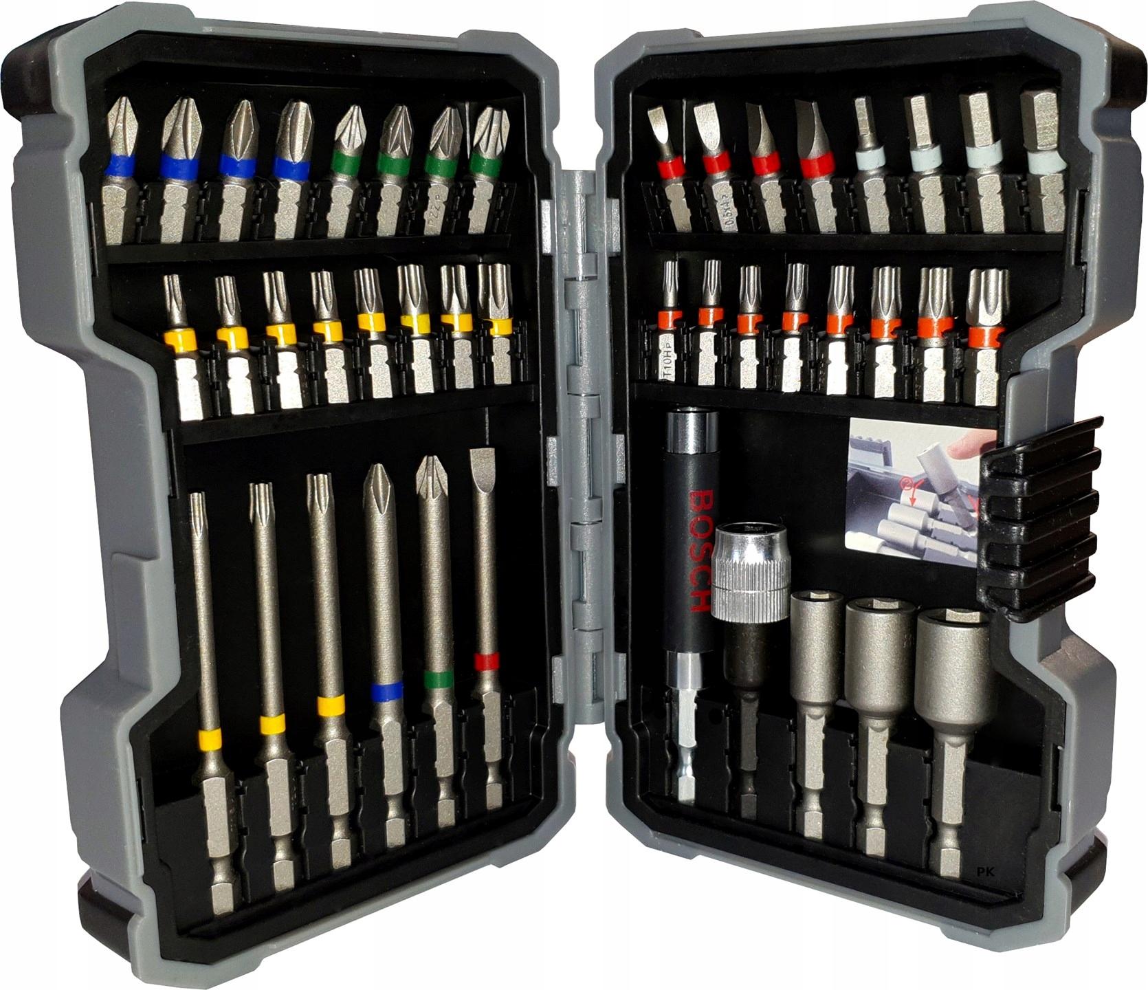 Zestaw bitów nasadek Extra Hard Bosch 43 elementy