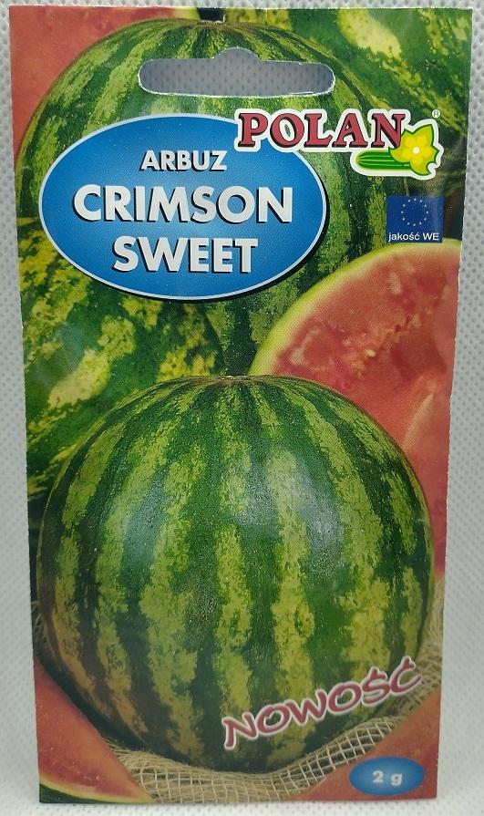 Nasiona Arbuz Crimson sweet