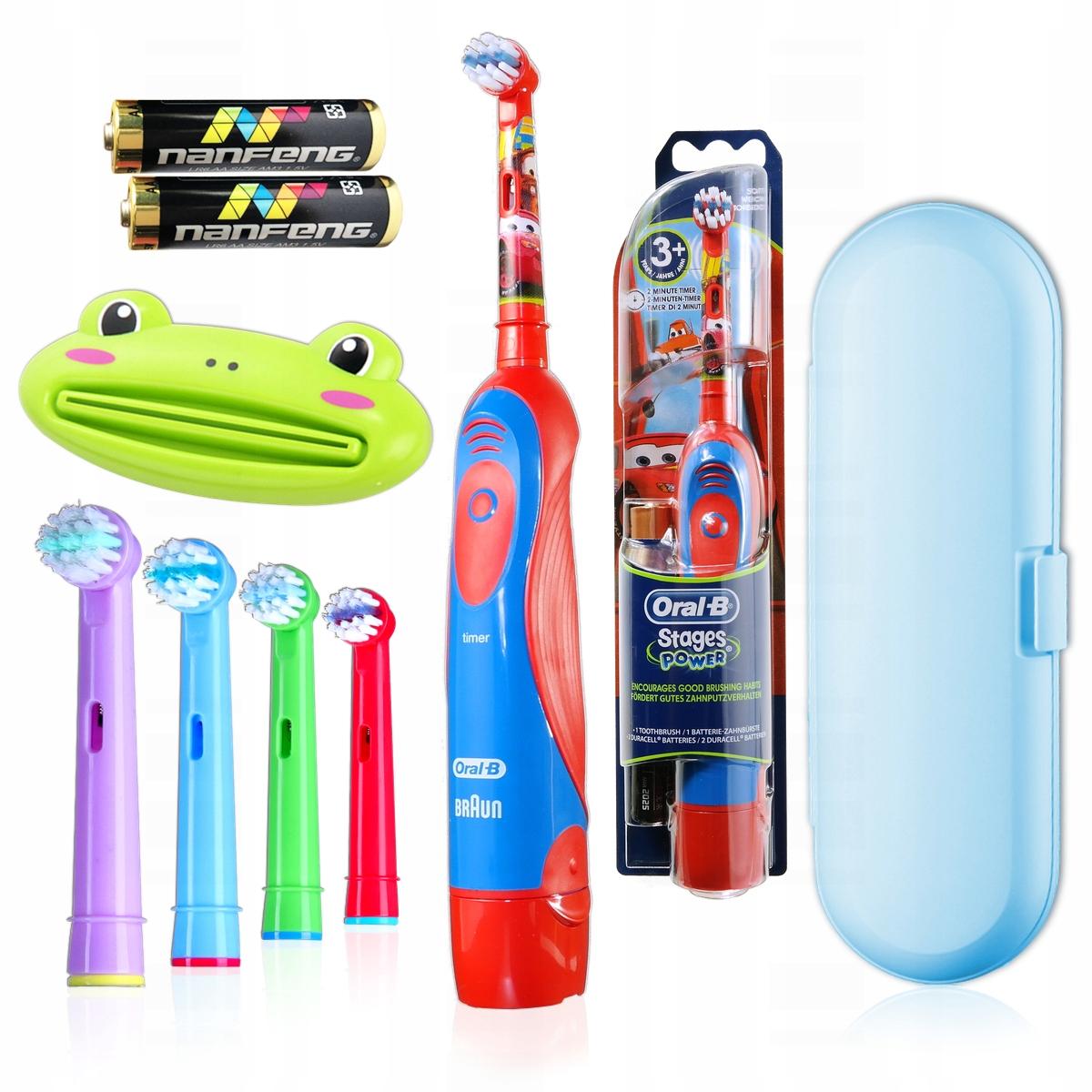 Бесплатная электрическая зубная щетка Oral B для детей