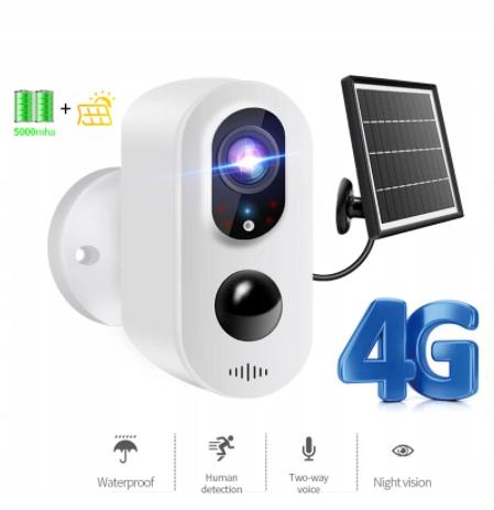 Kamera LTE 3G 4G bezprzewodowa na baterie MicroSD Kod producenta xxx