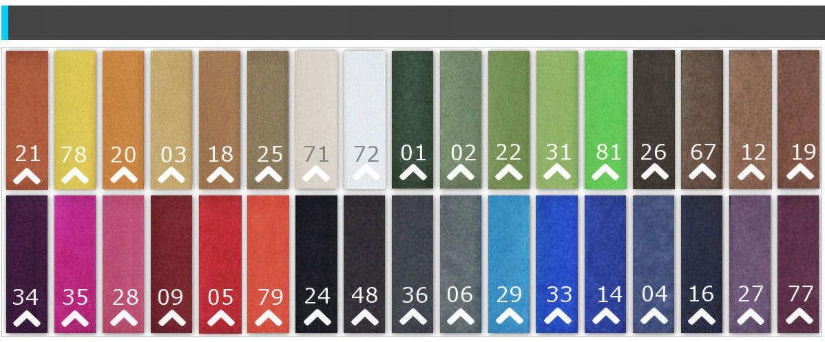 Zložljiv vogal RIO s funkcijo spanja, material za oblazinjenje - tkanina