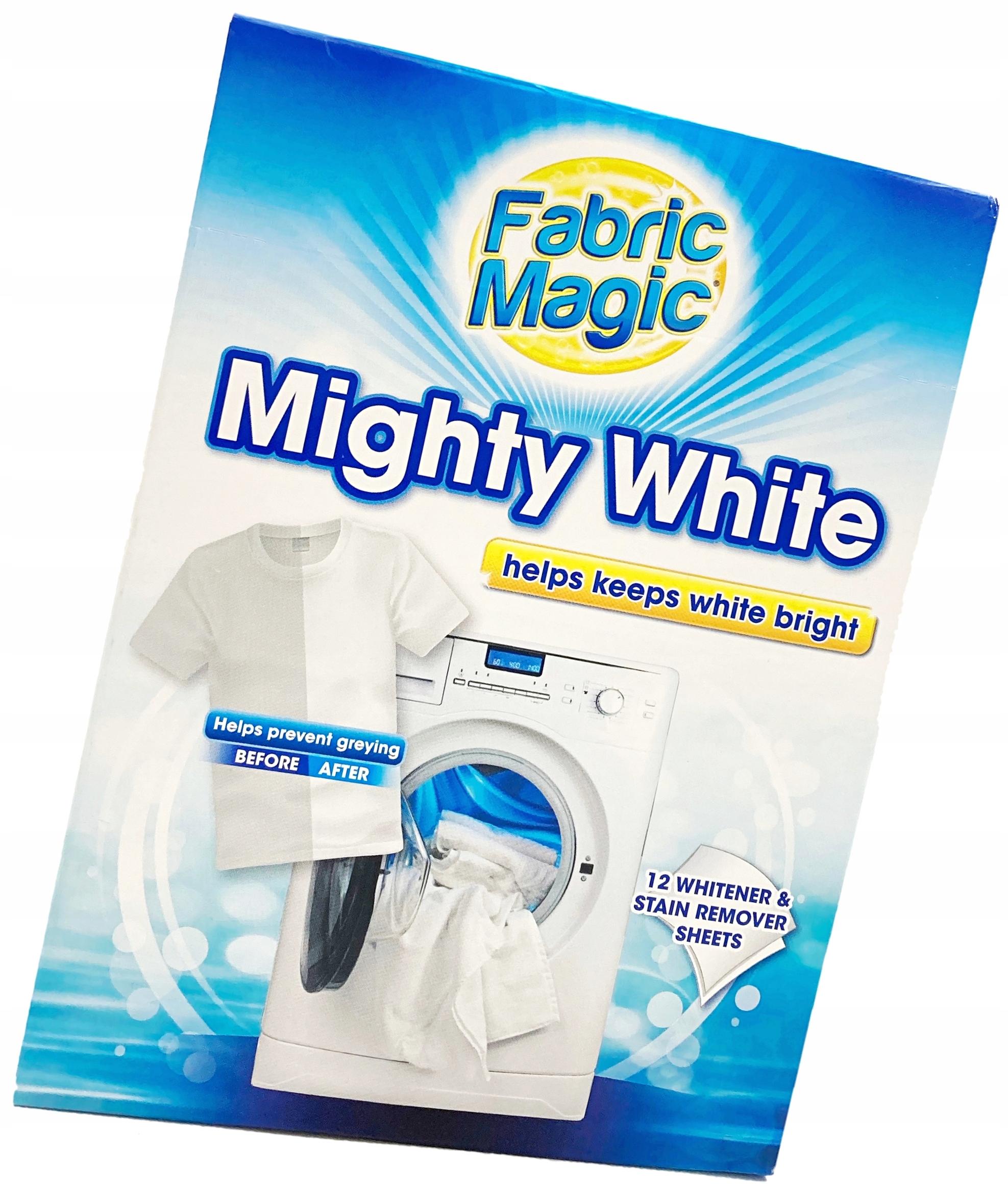 FABRIC MAGIC WHITE СТИРКИ