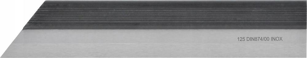 Liniał krawędziowy INOX 300mm DIN 874/00 VA FORMAT