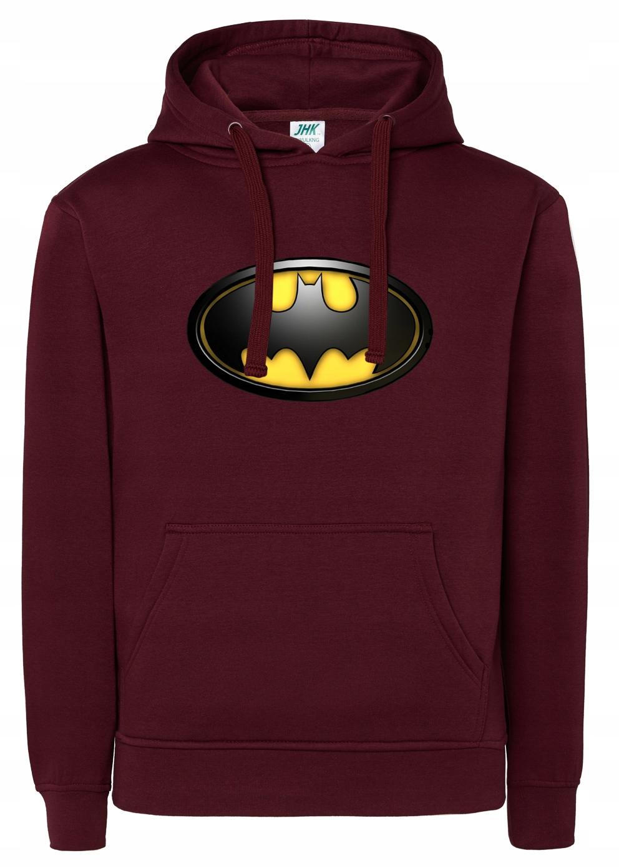 Damska Bluza Z Kapturem Batman 3D L
