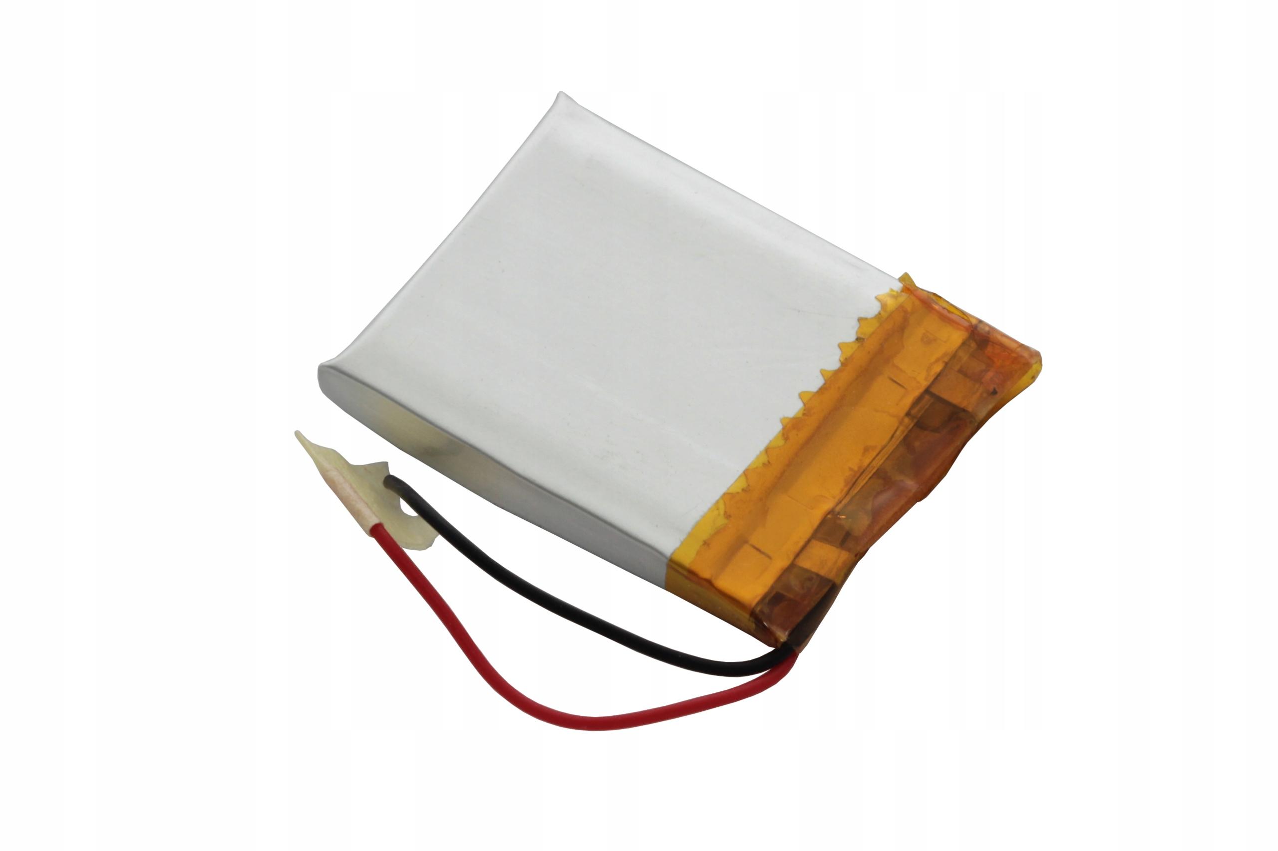 AKUMULATOR PRYZMATYCZNY Li-POLy 3,7V 370mAh 502530 Marka AmElectronics