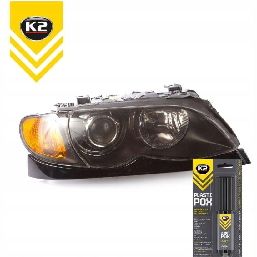 K2 PLASTIPOX универсальный пластиковый клей сильный EAN 5906534019103