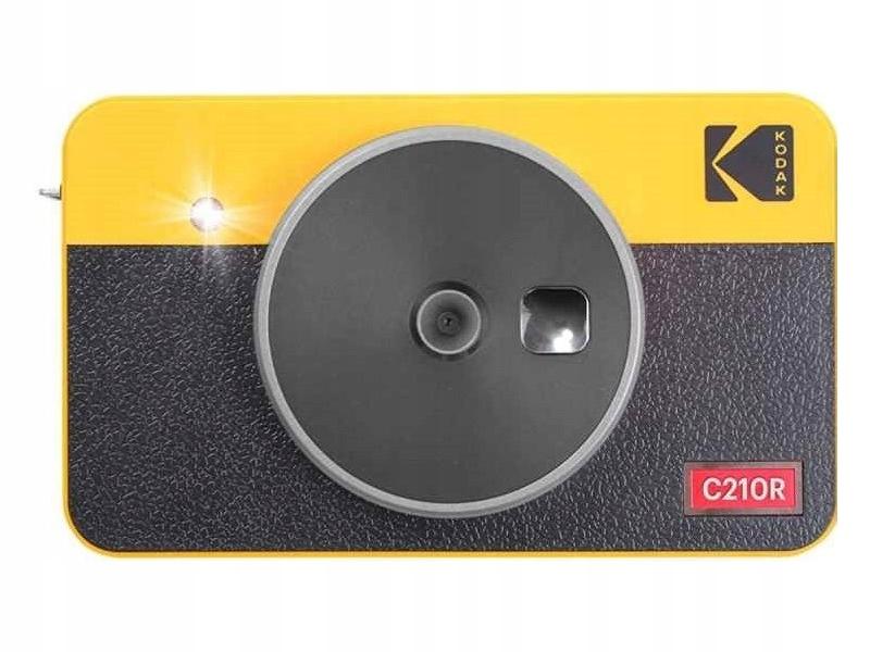 Retro žltá kamera KODAK Mini Shot Combo 2