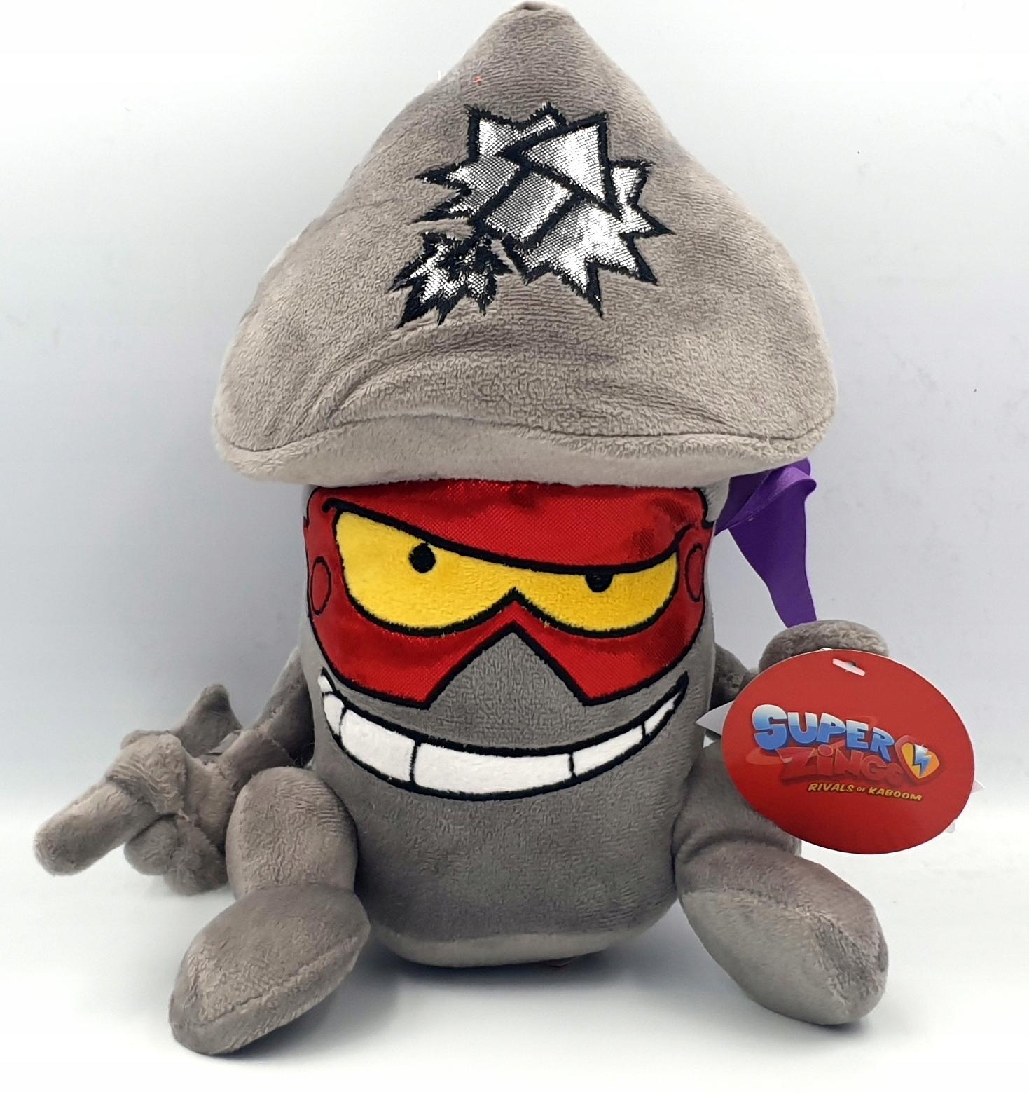 Maskot Super Zings Superzings Plyšová hračka Tim Rocket