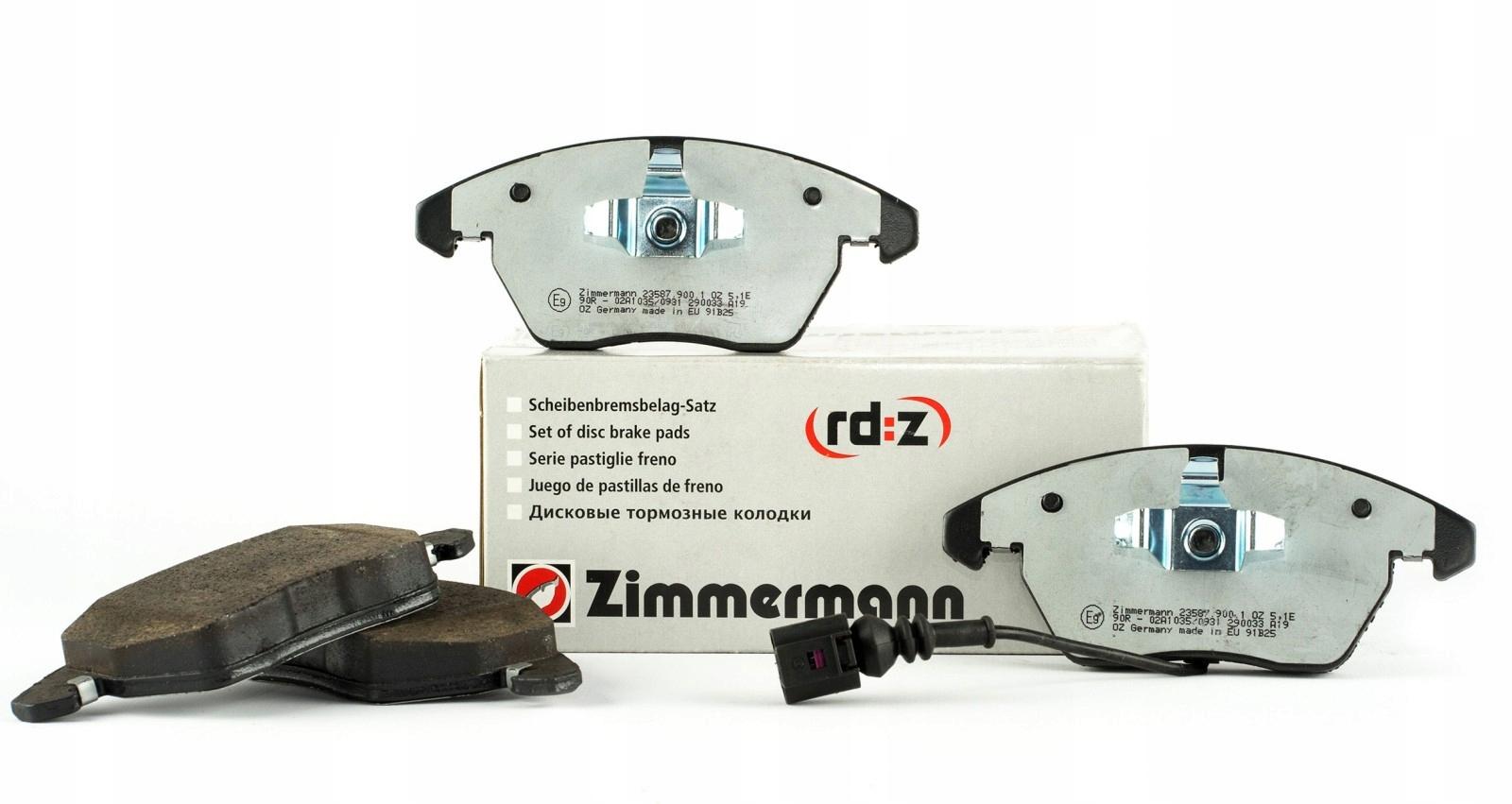 колодки керамические zimmermann вперед bmw 5 e39