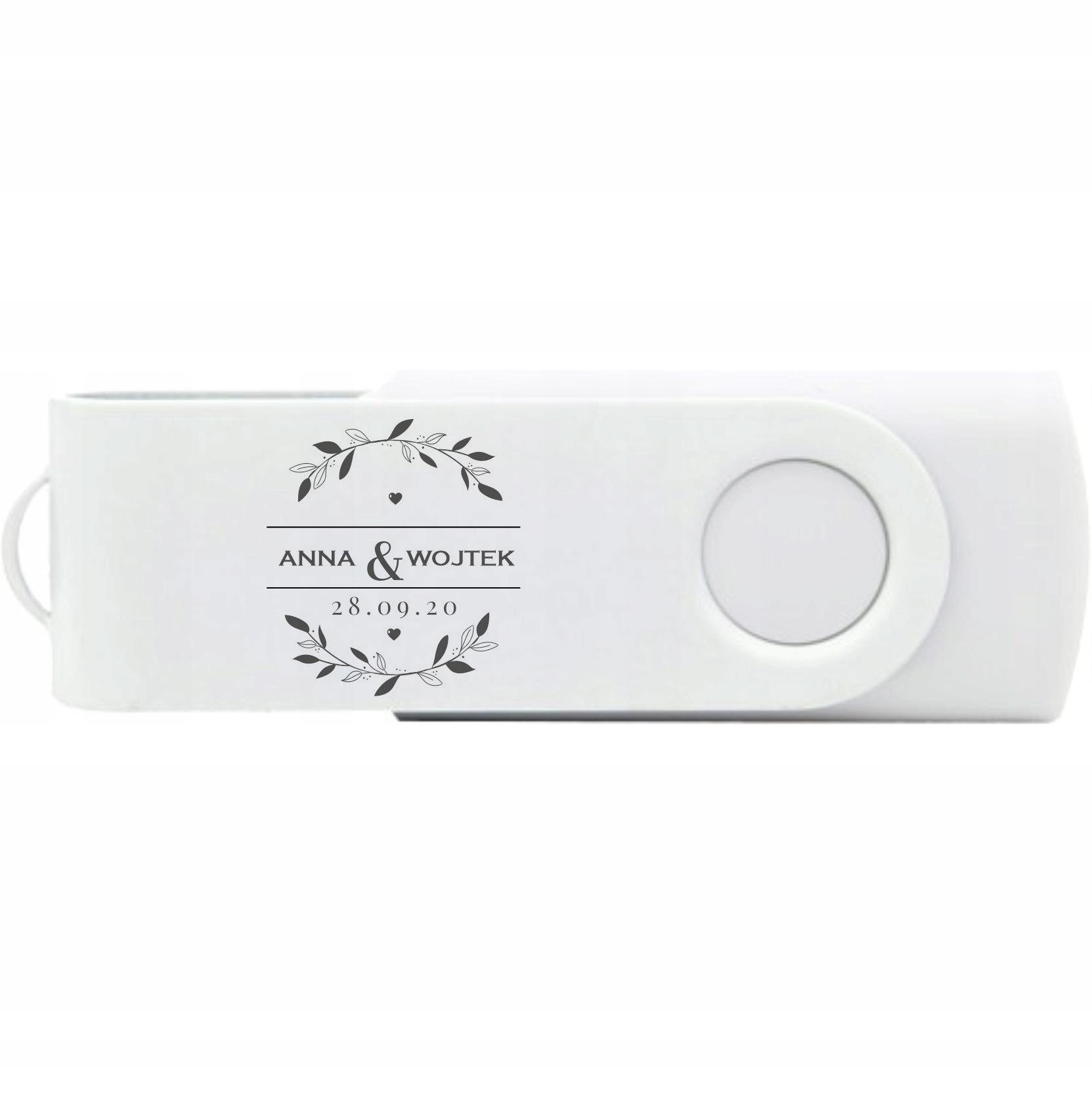 Купить Pendrive USB TWISTER 1 GB grawer ślubny на Otpravka - цены и фото - доставка из Польши и стран Европы в Украину.