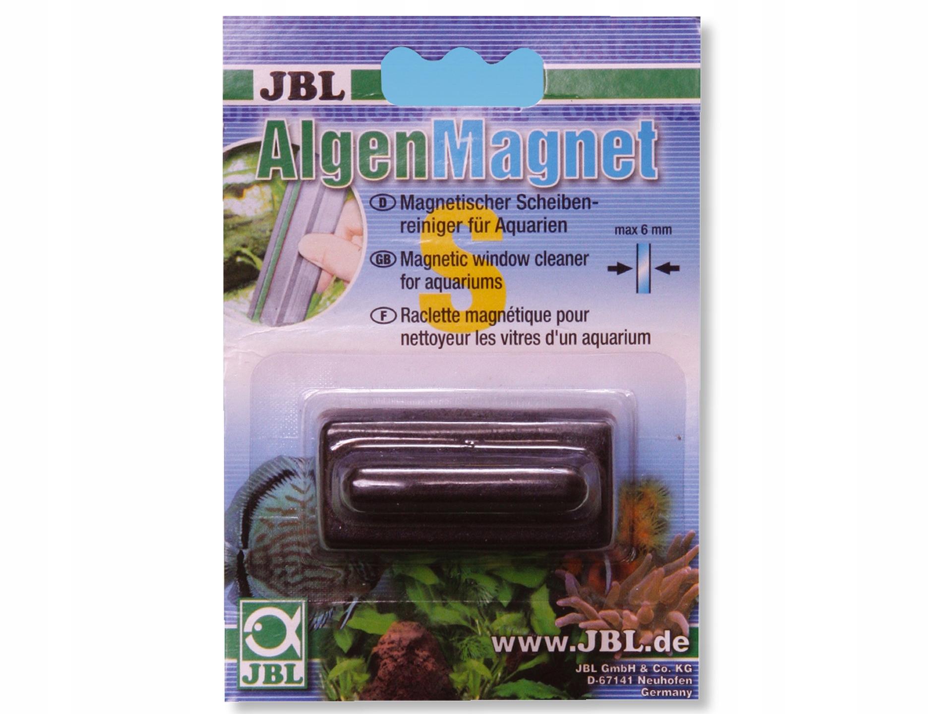 JBL Магнитный очиститель Algen S для стекла макс. 6мм