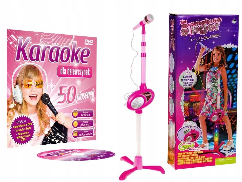 Karaoke Karake pre dievčatá + tuhý mikrofón