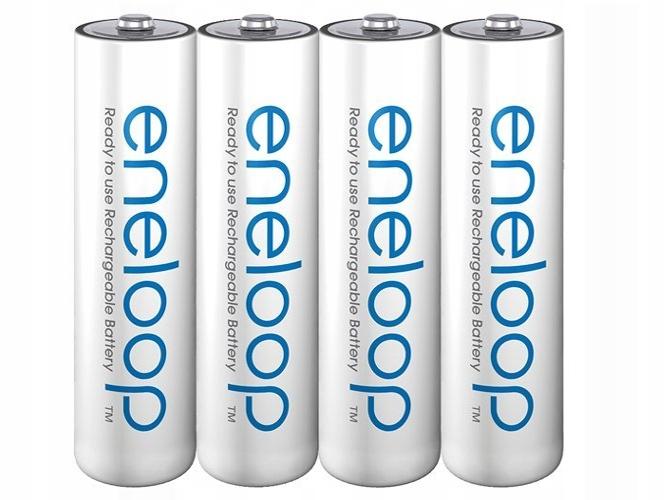 AAA 4X ENLOOOP Batérie Panasonic R03 MCCE BOX
