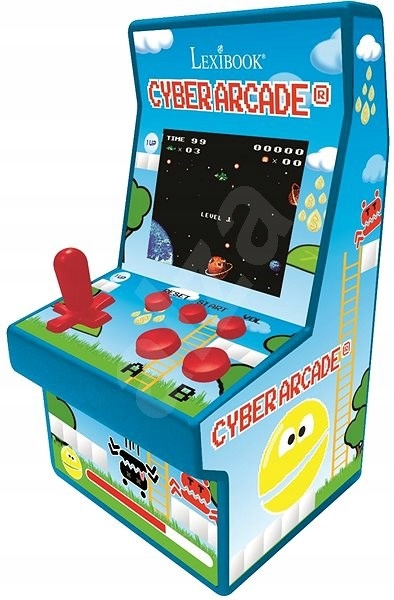 Prenosná konzola Cyber Arcade 200 gier pinball RET
