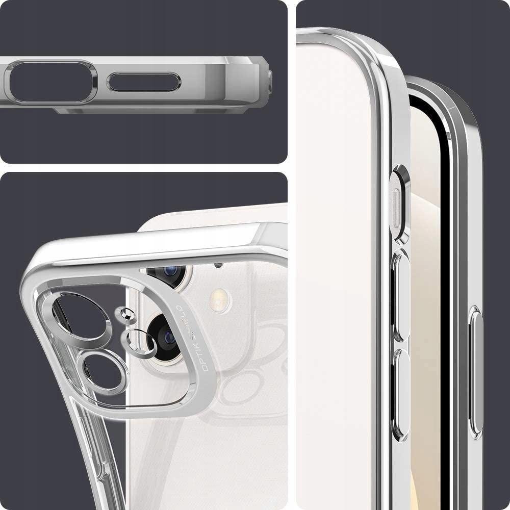 Etui Spigen Optik Crystal + Szkło do iPhone 12 Kod producenta Braders Etui Spigen + Szkło do iPhone 12